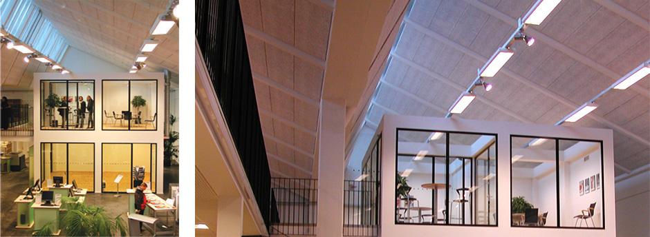 HareskovByTegnestuen - Heidelberg showroom og kontor